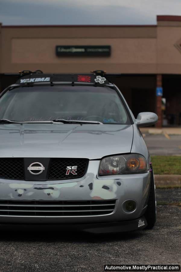 Jdm Nissan Sentra Ser With White Rims Mostlypractical