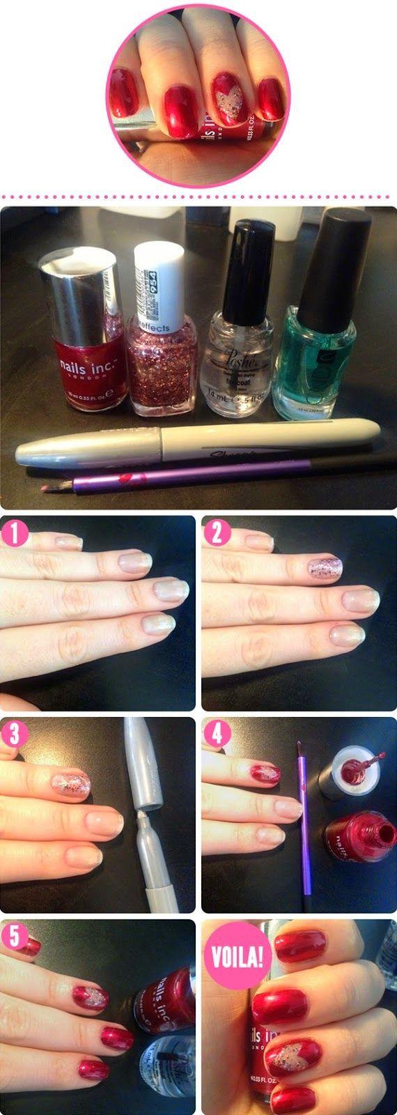 65 besten Nail Art Bilder auf Pinterest | Nagelkunst design ...
