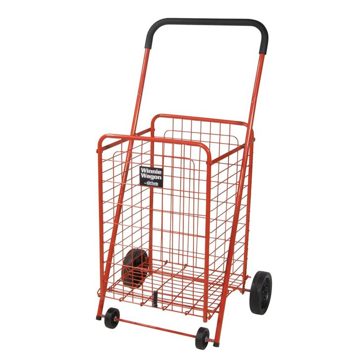 Be sure to checkout the trendy, folding grocery cart with swivel wheels, which…
