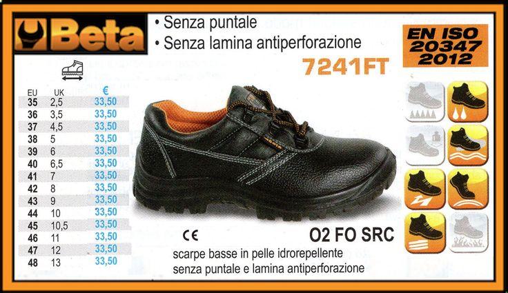Scarpe basse in pelle idrorepellente BETA