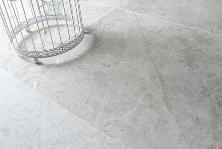 Smoked Silver Honed Limestone Floor Tiles