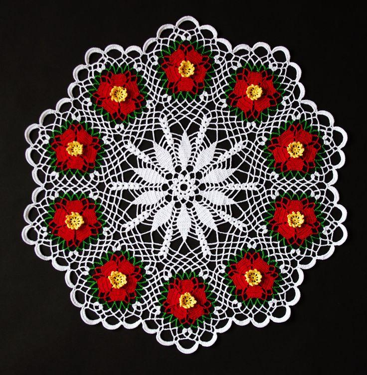ちょうど今頃が椿の季節でしょうか。 まだ実際には見かけませんが、家の中では真っ赤な椿が満開となりました。  以前から、編むんだったら白一色かなあと思っていたのですが、前作に引き続き、カラー糸で編みたい気持ちが・・・。 今回は赤、緑、黄および白ととってもカラフル。 立体的なおしべと真っ赤な5枚の花びら、1段だけ入った緑も効いていますね。  私の勘違いで、途中で赤の糸が足りなくなり、簡単に糸が買えない環境なので、大変でした。 オリムパスのエミーグランデは各種売られているのですが、金票40番は本当に売ってないですね。 白はなんとかあっても、他の色まではなかなか・・・。 見つからなかったら通販のつもりでしたが、運良く探していた赤が1個だけあって、感激しました。 また、モチーフのつなぎ方が間違っていることに気がつき、3つ...