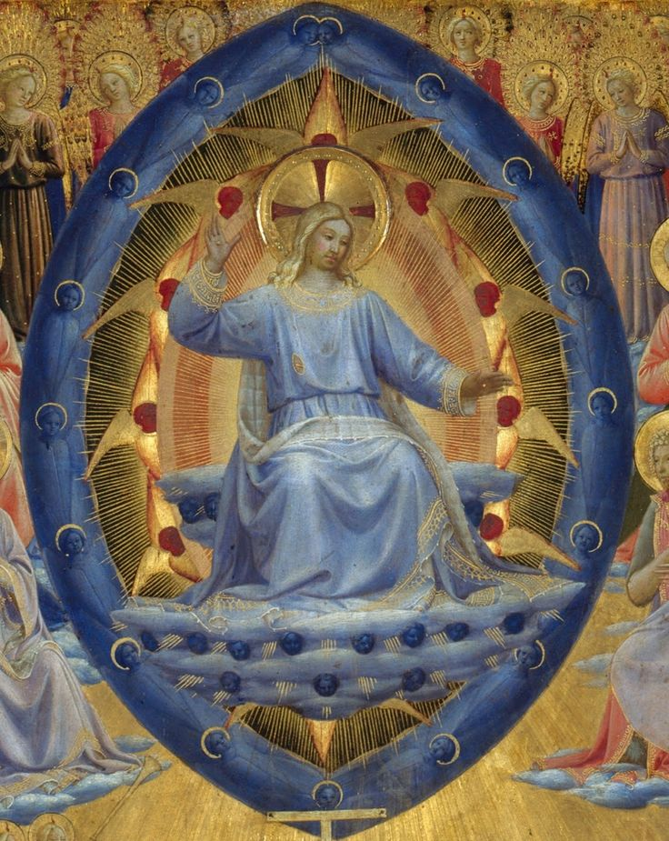 Fra Angelico - The Last Judgement (Winged Altar). Detail. 1450