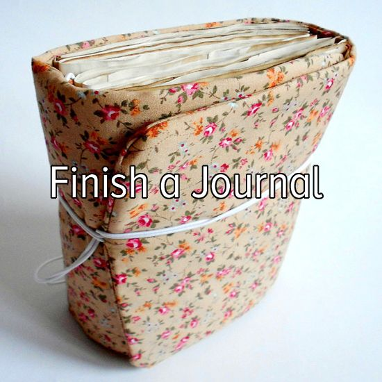 Bucket list: finally finish writing a journal from start to finish.