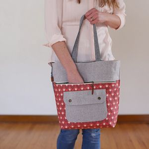 Super Online Sewing Match Round THREE: Caravan Tote || Sew Mama Sew