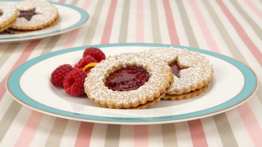 Linzer Cookies. For soft, chewy cookies, assemble a day in advance. For crispier cookies, sandwich the same day as serving.