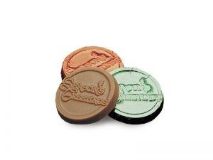 Season's Greetings Chocolate Coins