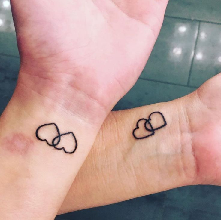 As if the maternal bond wasn't enough these little cutie pies went and got themselves branded in the name of the purest love that is.