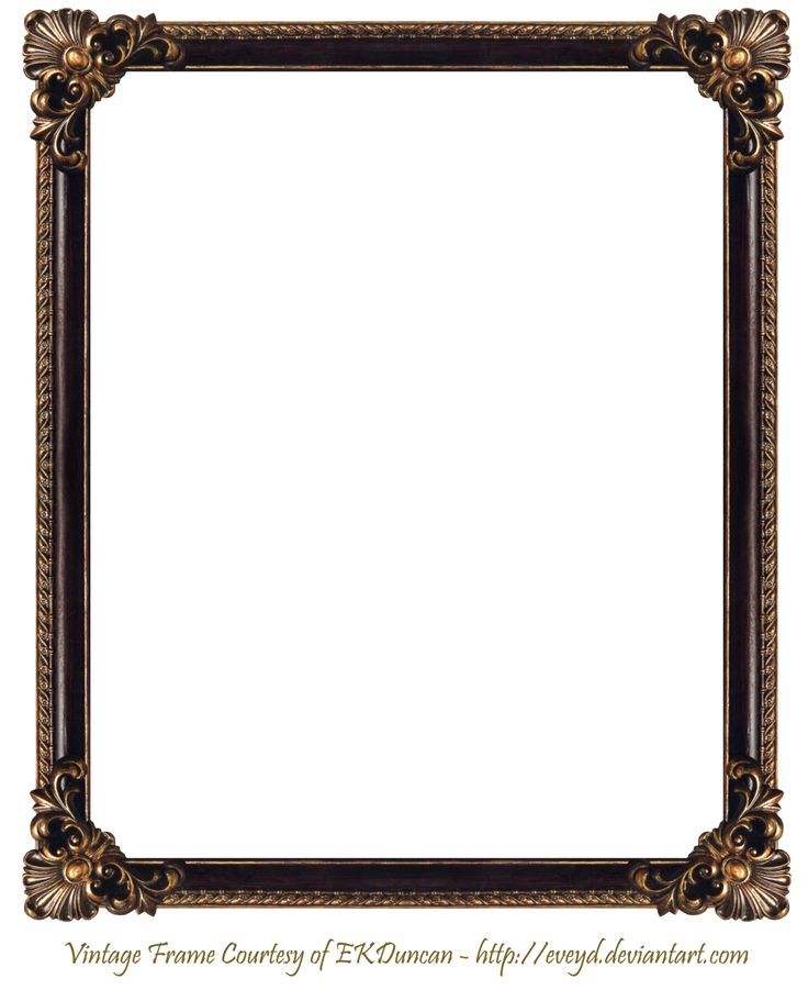 Wood Photo Frames : frame png  Elaborate Wood Frame 3 by EKDuncan by EveyD on deviantART ...