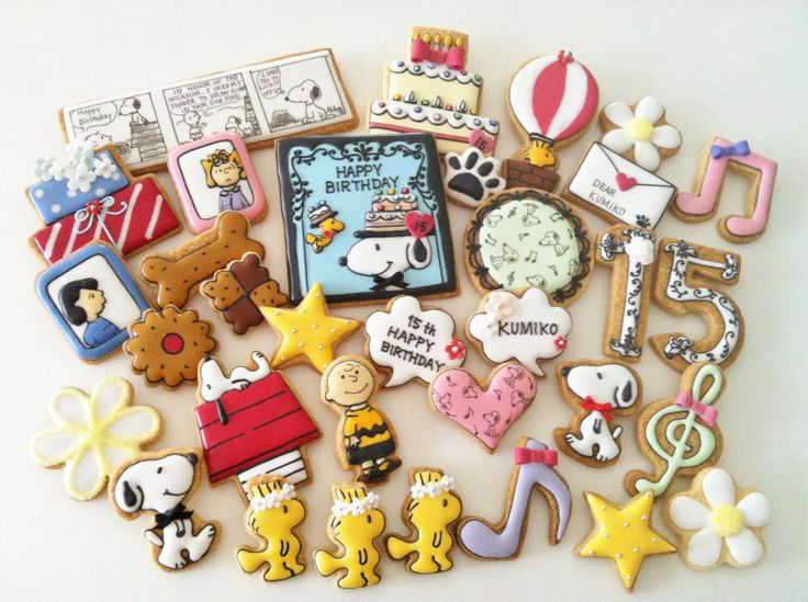 Snoopy cookies!!!