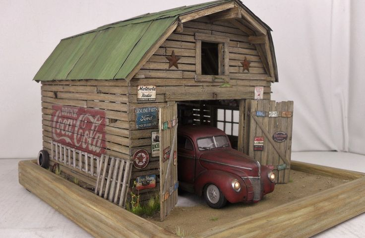 1 24 1 25 Barn Garage Diorama For Sale On Ebay: Best 25+ Dioramas Ideas On Pinterest