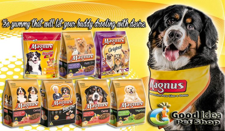 The quality of the food you feed makes a direct difference in your pet's health. Quality is the key word, quality of the ingredients that go into the making of the pet food you feed. So here's Magnus Dry Food for your buddies daily needs. Quality Guaranteed ♥ ORDER NOW! We offer 20% Discounts on all our products :) Also available in SOUQ.COM For more information  Call : 042677789 Email : sales7@goodidea.ae