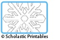 Cool Art Ideas: January-February @Scholastic   Snowflake Poetry Frame, Snowman (Parts of Speech) Snow Globe, Chinese New Year Crafts, Valentines Day Activities, Presidents Day Projects...