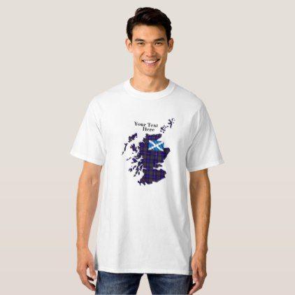 #Customize Your Own Pride of Scotland Men's Tall T-Shirt - #familyreunion #family #reunion