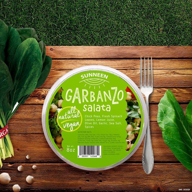 Garbanzo Salad | Label Design by attilakamasz