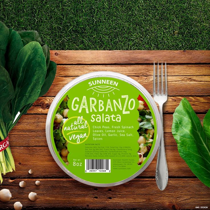 Garbanzo Salad | Label Design by attilakamasz