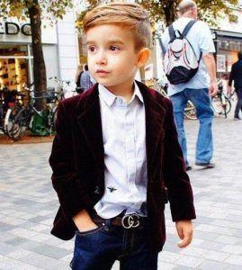 gaya rambut undercut anak laki