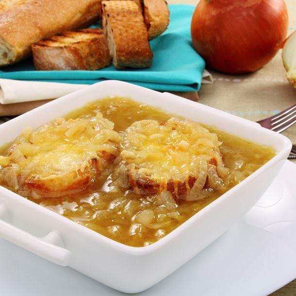 Soupe à l'oignon facile et rapide
