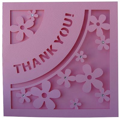 "DIGITAL ART by Daniela Angelova: ""Thank you!"" card"