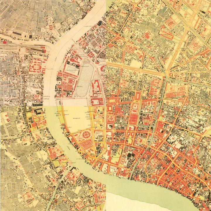 แผนที่กรุงเทพมหานคร ปี2475 ฉบับเต็ม สามารถหาได้จากที่ไหน