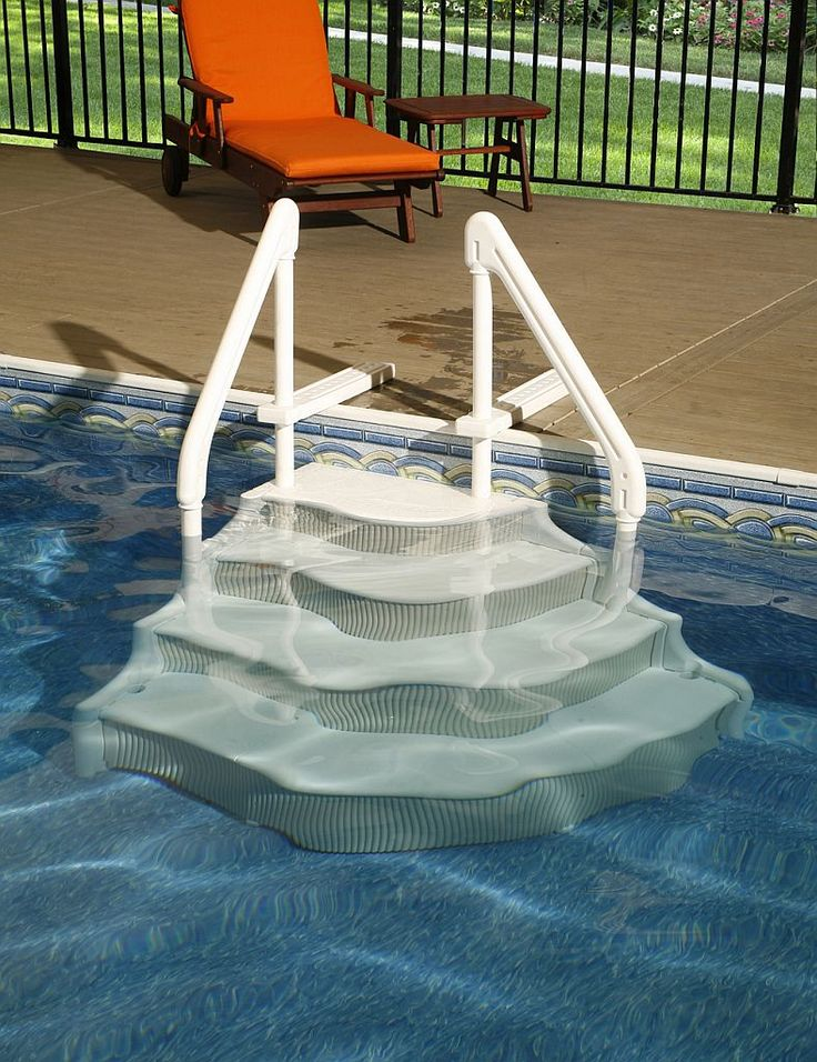 Shop for Blue Wave Grand Entrance Step for In-Ground Pools. Get free  delivery at - Your Online Water Sports