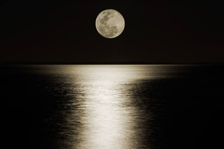 The moon at Redcliffe, Queensland...