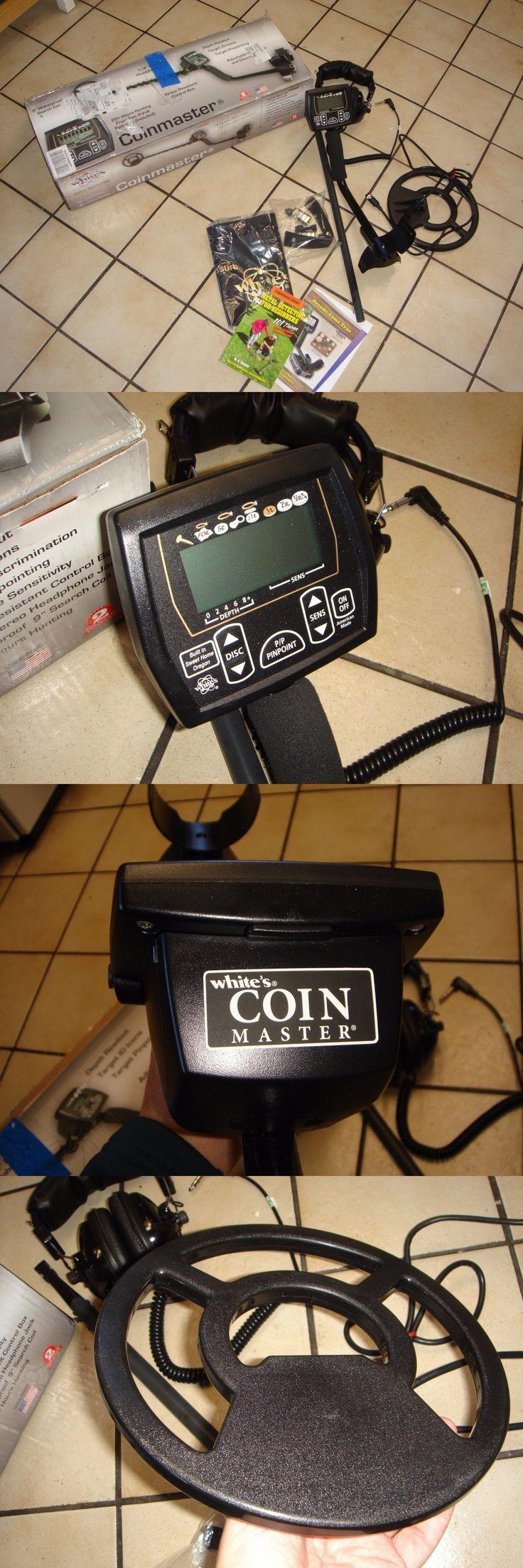 Metal Detectors: Whites Coinmaster Metal Detector 800-0325 Nib Open Box Return BUY IT NOW ONLY: $135.0
