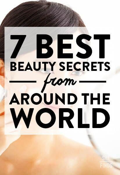 Here are 8 fantastic beauty secrets from lovely women living around the world…