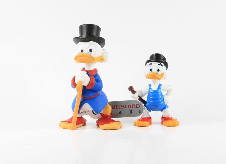 Dagobert Duck === 2 x uncle scrooge Walt Disney Figuren Bully / Bullyland | eBay