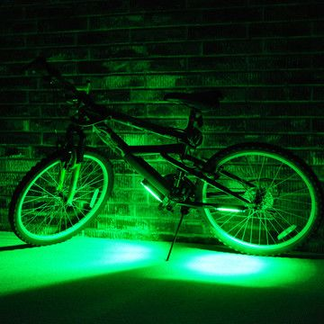 Bike Brightz Green, $14.99, now featured on Fab.