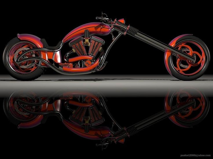 American-Chopper...this bike is solo freaking awesome!! I want!!