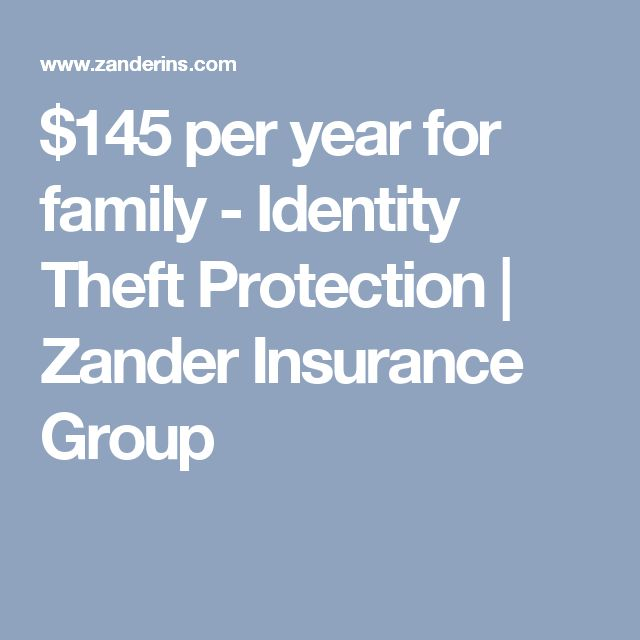 Best 25 identity theft ideas only on pinterest identity for Zander credit protection