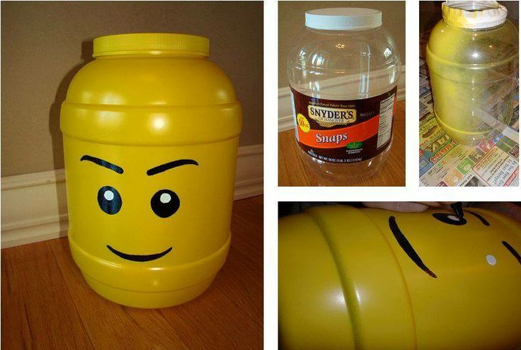 artsy side table ideas | get the instructions for these lego storage containers here lego ...
