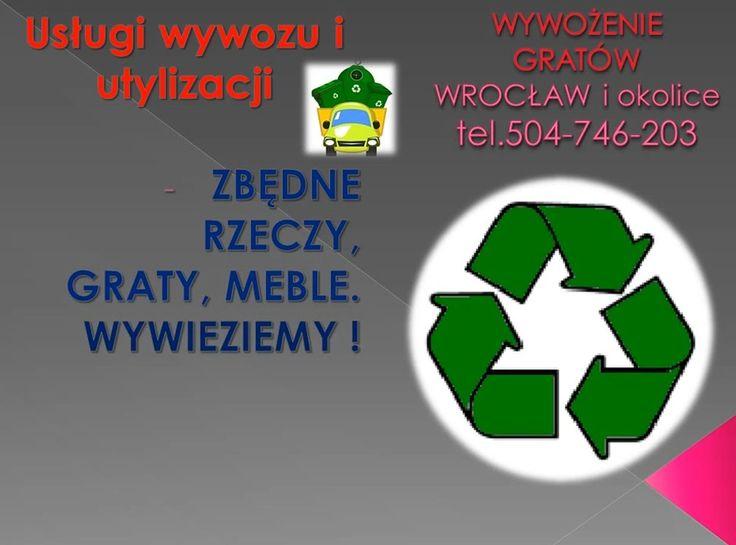 Wrocław, opróżnianie mieszkań, tel 504-746-203, opróżnienie mieszkania ze starego wyposażenia. Kompleksowe wywożenie zbędnych rzeczy, starych mebli. opróżnienie z zalegających w domu, piwnicy starych gratów, sprzętu RTV, AGD. http://wywozmebliwroclaw.pl/oproznianie-mieszkan-wroclaw/