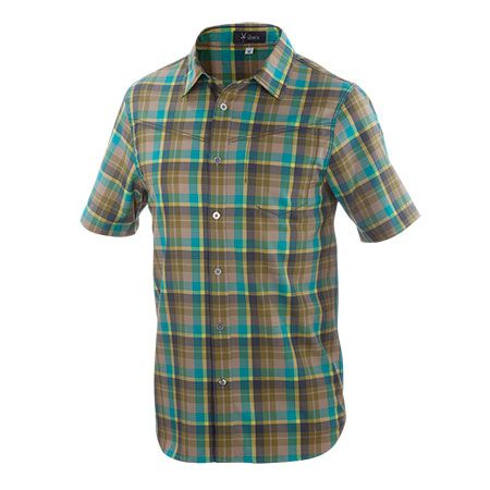 The 'Quarry Plaid' color is probably more my speed.   But talk about something I don't need. A $145 shirt!