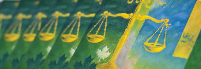 About Canada's System of Justice: This booklet provides general information about Canada's justice system. It is not intended as legal advice. If you have a legal problem, you should consult a lawyer or other qualified professional