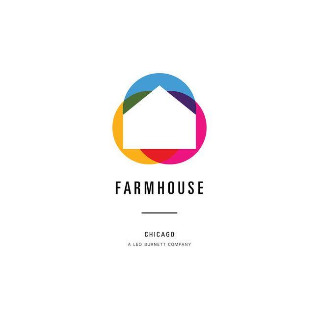 Chicago-based Farmhouse, a division of Leo Burnett. #identity #logo