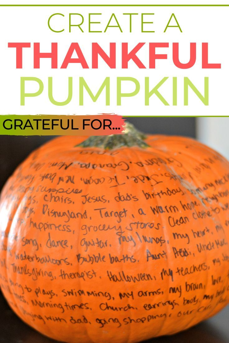 Create A Thankful Pumpkin Thanksgiving Activities Christian Thanksgiving Christian Thanksgiving Crafts
