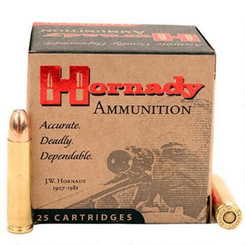 Hornady Custom .30 Carbine Ammunition 25 Rounds RNSP 110 Grains - 8104 - 090255381047