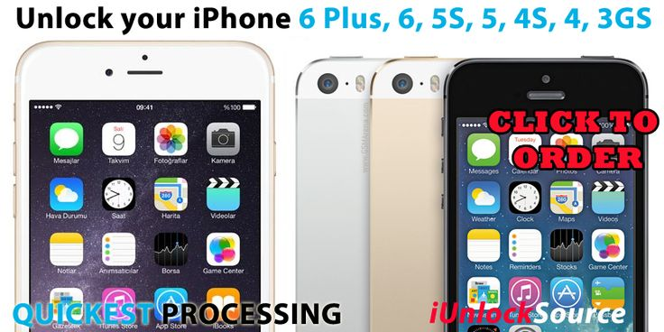 Factory Unlock your iPhone 6, 6 Plus, 5S, 5, 4S or 4, all north american networks supported Rogers, Fido, Telus, Bell, Koodo, Virgin, AT&T, Verizon fastest unlocking online