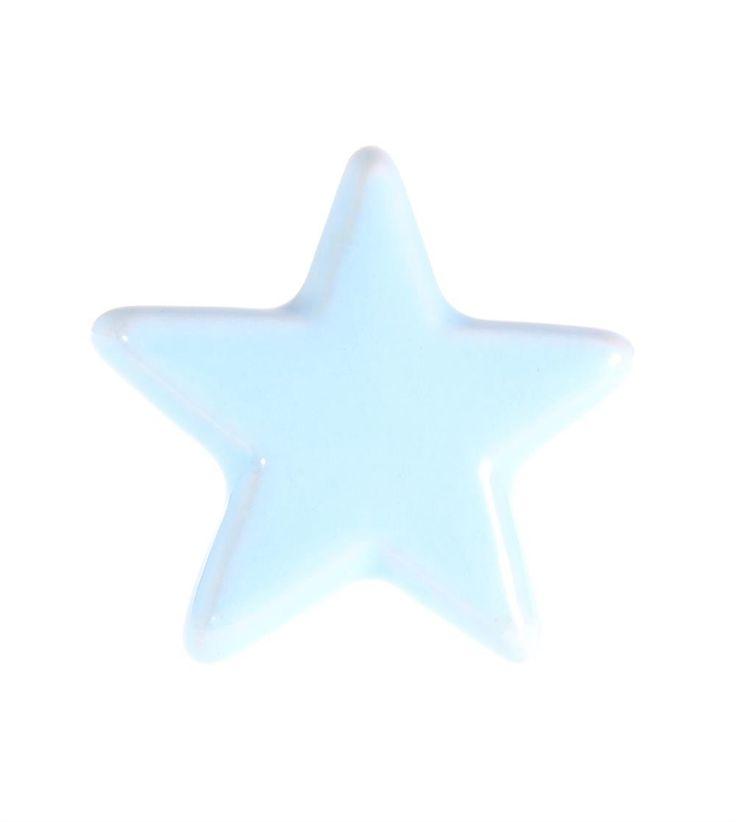 deurknop blauwe ster