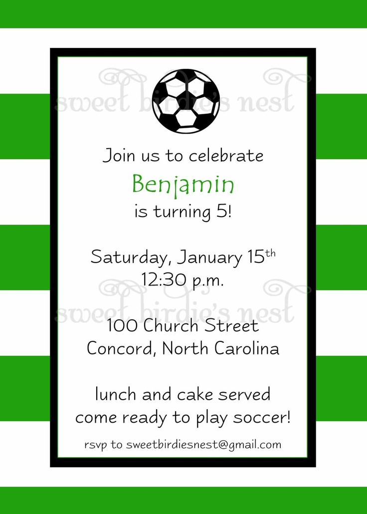 370 best Soccer Party images on Pinterest | 4th birthday, DIY and ...