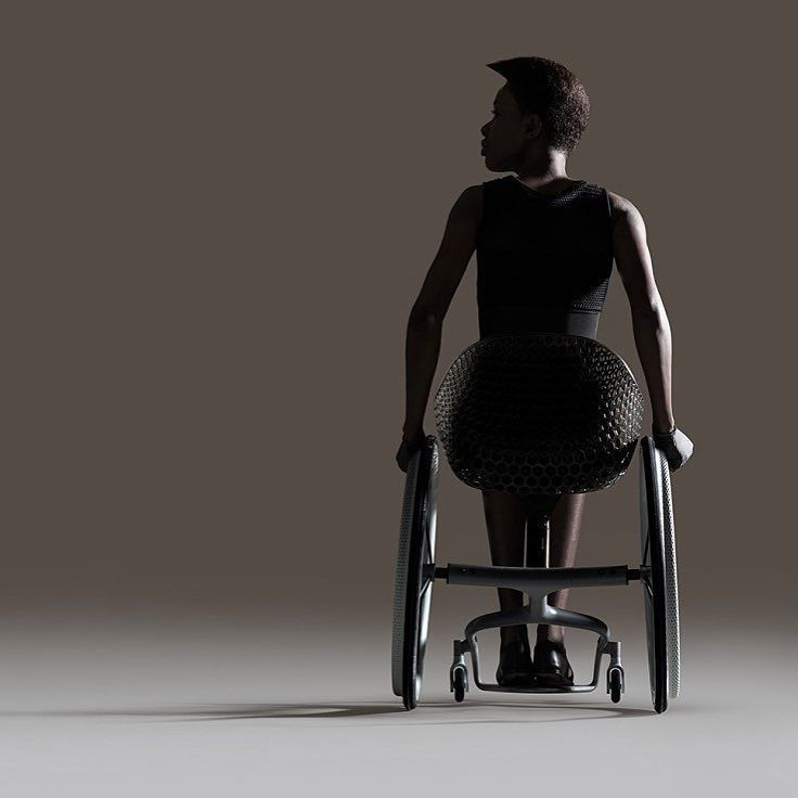 3D-printed bespoke wheelchair debuts at Design Week in London. The GO wheelchair is3D-printed wheelchair is made to fit exactly the shape and needs of its rider. For instance someone with a spinal injury midway up the back might require more support and a taller seat-back while someone who has lost a leg might want things to be adjusted to take her off-center balance into account.  Check it out through the link in our bio.  #3D #3Dprinting #wheelchair #DesignWeek #London #3Dprint #tech…