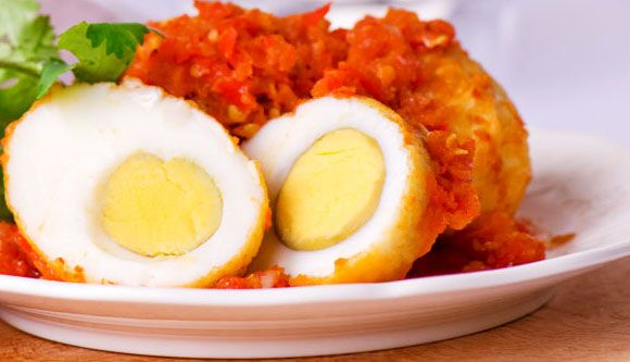 Sambal Goreng Telor , egg and chili paste <3 #indonesia #food