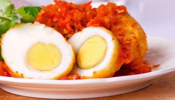 Sambal Goreng Telor , egg and chili paste <3 #indonesia #food