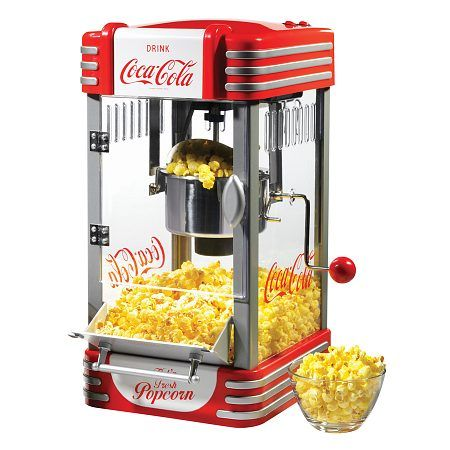 Nostalgia Electrics RKP630COKE Coca-Cola Series Kettle Popcorn Maker - 1 ea