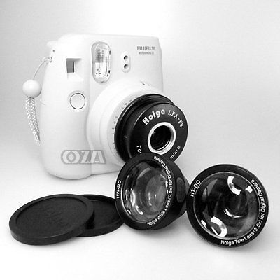 Holga WTL-F8 Wide & Tele Lens Adapter for Fujifilm Instax Mini 8 Instant…