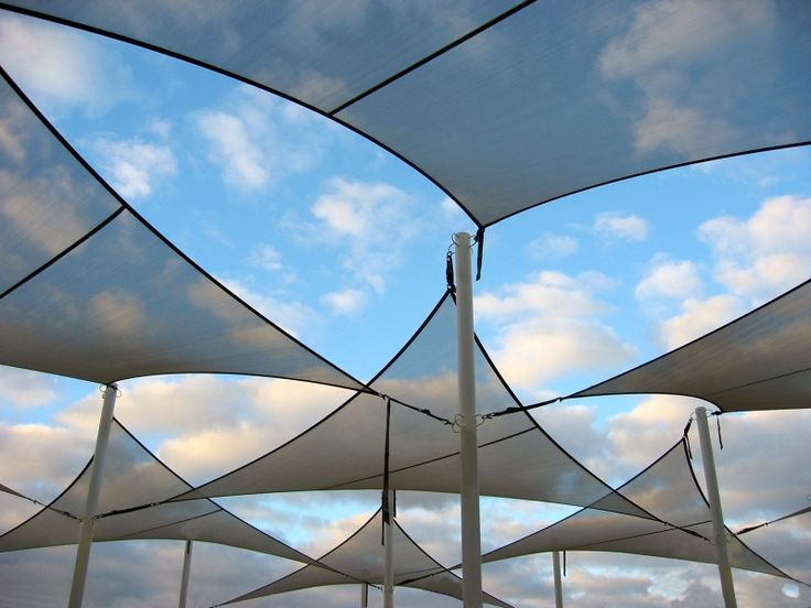 239 best ideas about tensile fabric structure on pinterest for Sun shade structure
