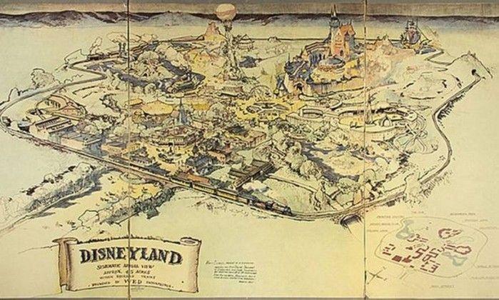 Mapa original da Disneylândia é leiloado por R$ 2,4 milhões - Jornal O Globo