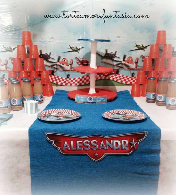 #Disney #Planes #Party #Personalizzati #Baby www.torteamorefantasia.com